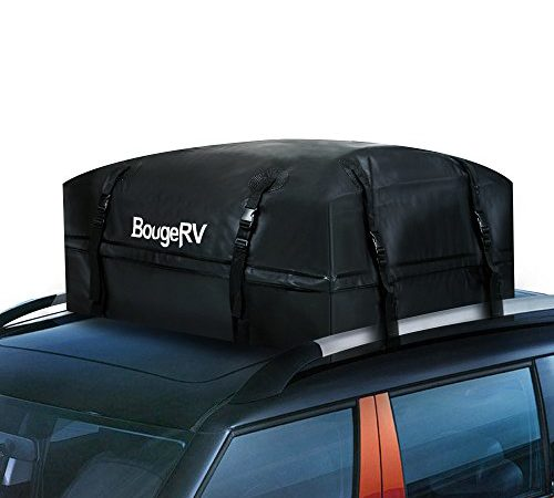 BougeRV Cargo Bag WATERPROOF Roof Top Outdoor Cargo Carrier Bag 382